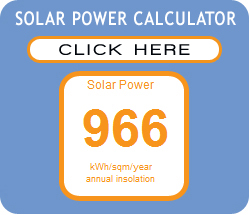 Solar Power Calulator